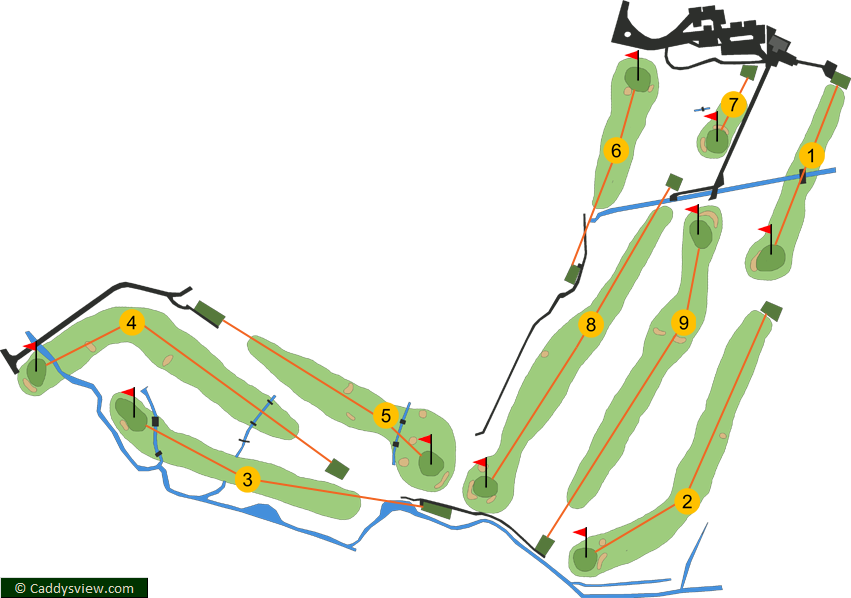 City Of Belfast Course Map