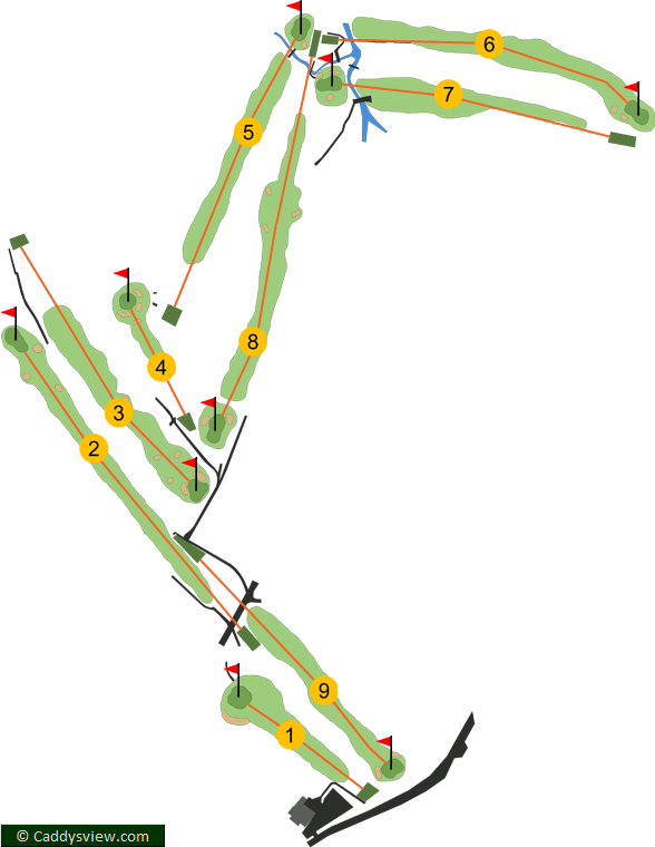 Cliftonville Golf Club Course Map