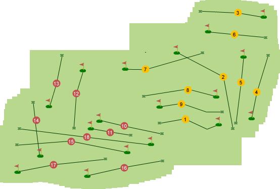 Enniskillen Golf Club Course Map