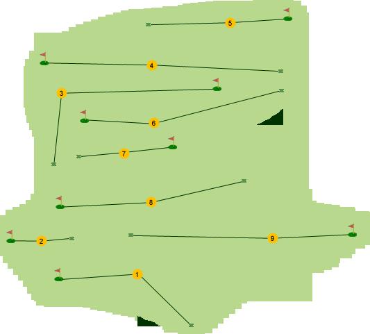Kilrea Golf Club Course Map