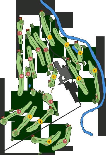 Radisson Roe Park Golf Club Course Map